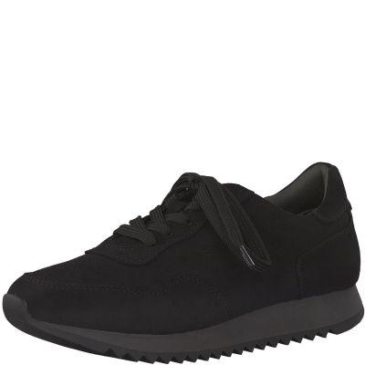 TAMARIS sportos utcai cipő 1-23606-25 001 BLACK