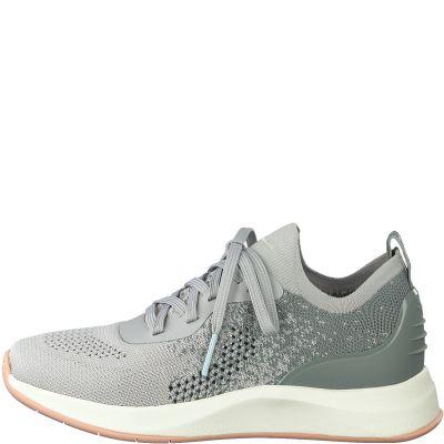 TAMARIS sportos utcai cipő 1-1-23705-24 221 GREY COMB2