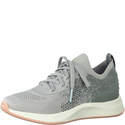 TAMARIS sportos utcai cipő 1-1-23705-24 221 GREY COMB