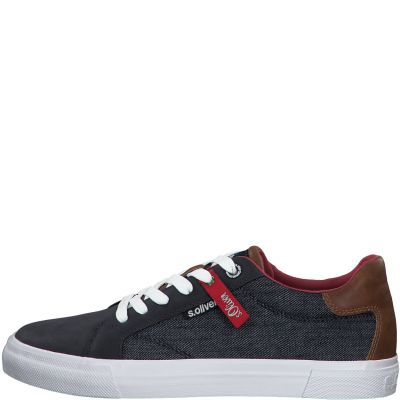 férfi vászon cipő S. Oliver 5-5-13641-24 802 DENIM2