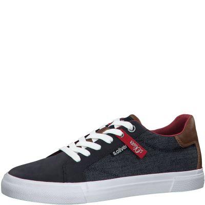 férfi vászon cipő S. Oliver 5-5-13641-24 802 DENIM