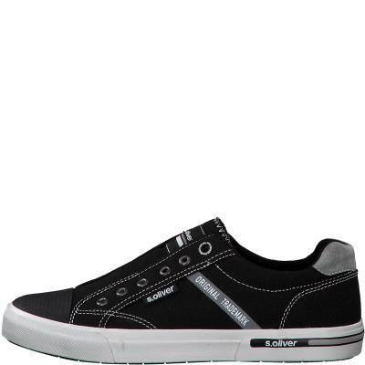 férfi vászon cipő S. Oliver 5-5-14603-24 001 BLACK2