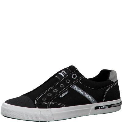 férfi vászon cipő S. Oliver 5-5-14603-24 001 BLACK