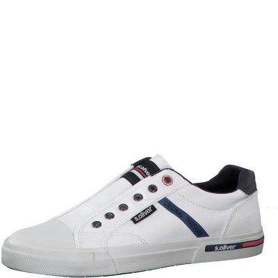férfi vászon cipő S. Oliver 5-5-14603-24 100 WHITE