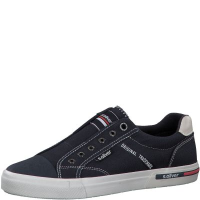 férfi vászon cipő S. Oliver 5-5-14603-24 805 NAVY
