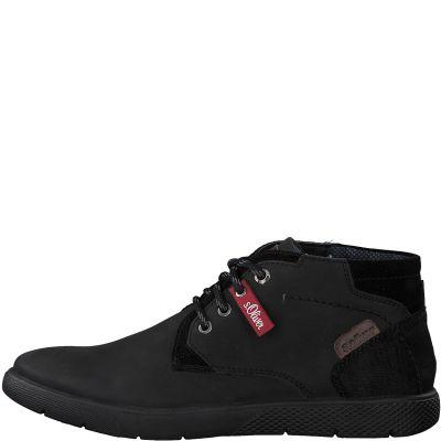 S.Oliver férfi cipő 5-5-15203-25 001 Black2