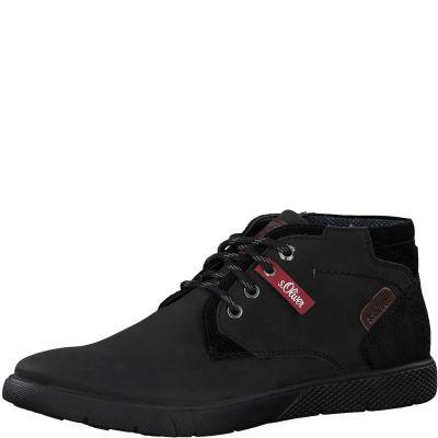 S.Oliver férfi cipő 5-5-15203-25 001 Black