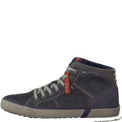 S-Oliver bélelt cipő 5-15205-21 805 Navy2