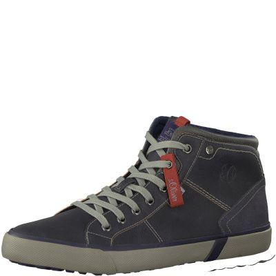 S-Oliver bélelt cipő 5-15205-21 805 Navy