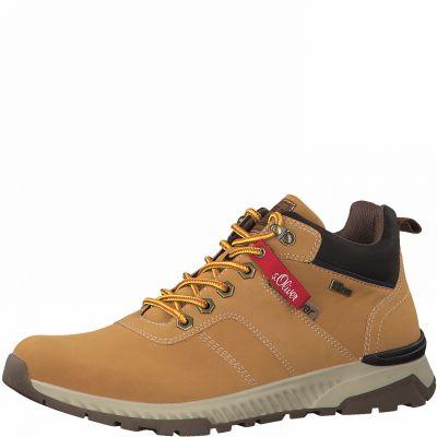 S.Oliver száras cipő 5-15226-25 604 CORN