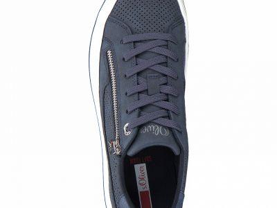 S.Oliver női sportos utcai cipő 5-5-23615-26 891 NAVY COMB2