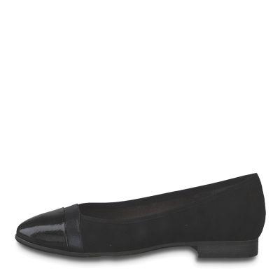 JANA női félcipő 8-22165-24 001 BLACK2