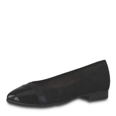 JANA női félcipő 8-22165-24 001 BLACK