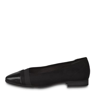 JANA női félcipő  8-22165-25 001 BLACK2