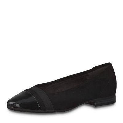 JANA női félcipő  8-22165-25 001 BLACK