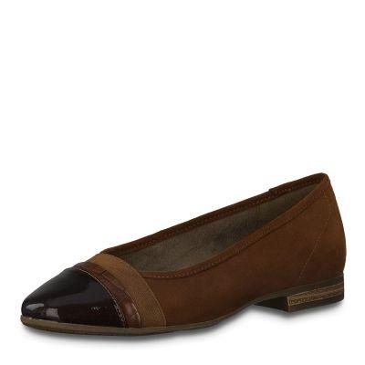 JANA női félcipő  8-22165-25 328 CHESNUT
