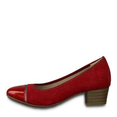 JANA női félcipő  8-22300-23 533 CHILI2
