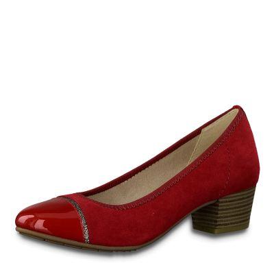 JANA női félcipő  8-22300-23 533 CHILI