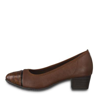 JANA női félcipő  8-22300-25 328 CHESNUT2
