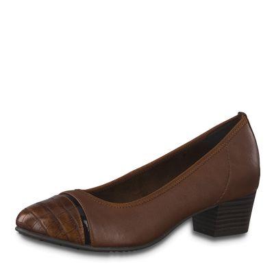 JANA női félcipő  8-22300-25 328 CHESNUT