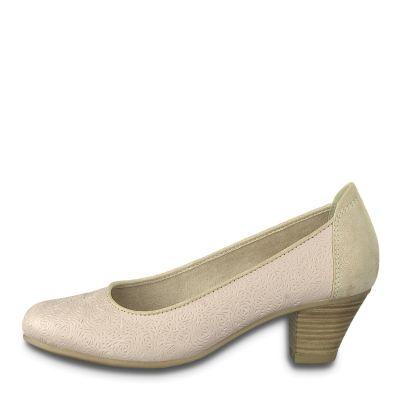 JANA női elegáns bőr cipő  8-22301-22 521 ROSE2