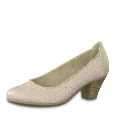 JANA női elegáns bőr cipő  8-22301-22 521 ROSE
