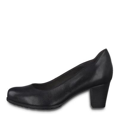 JANA női félcipő  8-22404-25 001 BLACK 2