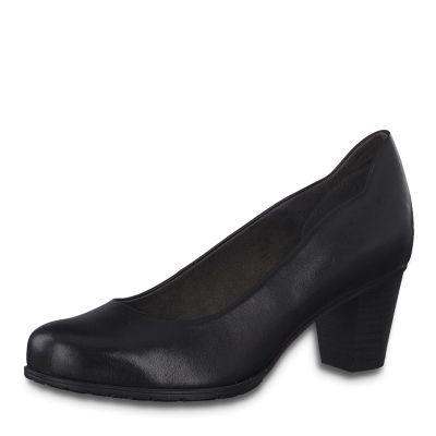 JANA női félcipő  8-22404-25 001 BLACK