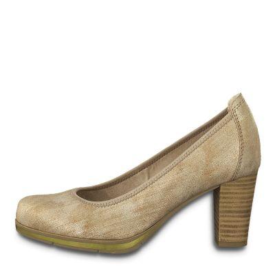 JANA női félcipő  8-22409-24 953 BRONZE METALL2