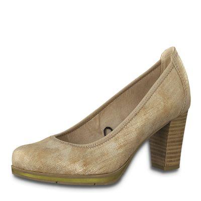 JANA női félcipő  8-22409-24 953 BRONZE METALL