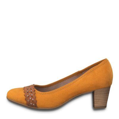 JANA női félcipő  8-22474-24 627 SAFRON2