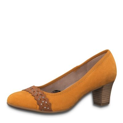 JANA női félcipő  8-22474-24 627 SAFRON