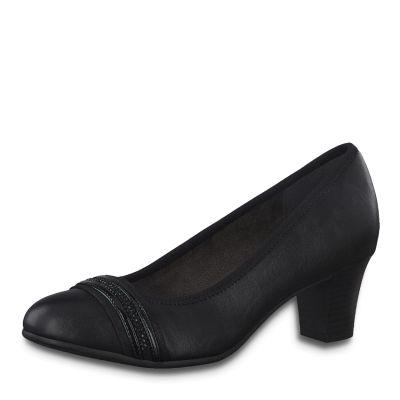 JANA női félcipő  8-22477-25 001 BLACK
