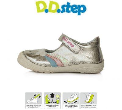 D.D.step bőr félcipő 030-60M CHAMPAGNE 25-30 méretben