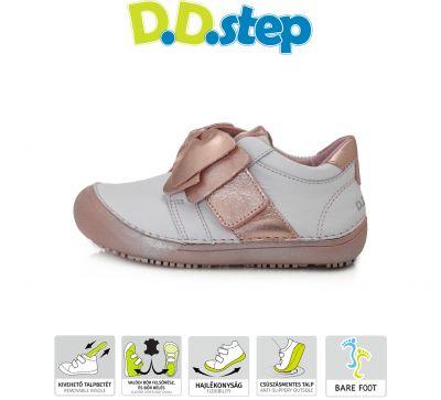 D.D.step bőr félcipő 063-254L PINK 31-36 méretben