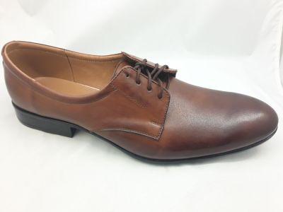 alkalmi férfi bőrcipő 620 Chocolate 1110