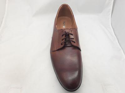 alkalmi férfi bőrcipő 620 Chocolate 1110 2
