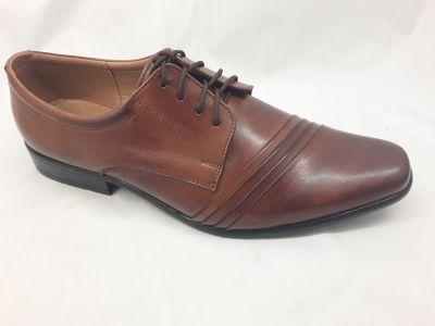 alkalmi férfi bőrcipő 420 muscat 1110