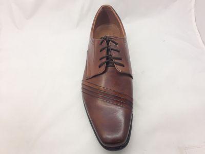 alkalmi férfi bőrcipő 420 muscat 11102