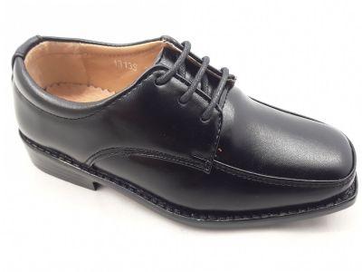 Fiú alkalmi cipő  1313S black 24-29 méretben