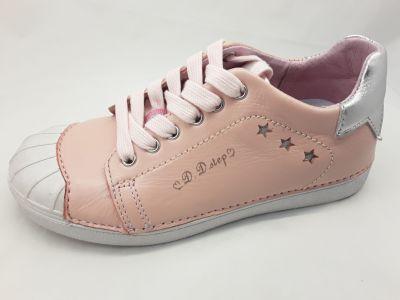 D.D.step bőr félcipő 043-517BL PINK 31-36 méretben