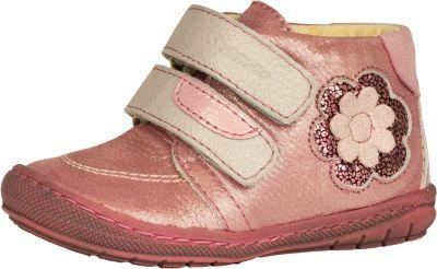 bőr félcipő 1552-408011  rózsaszín 2 tépős bokacipő 18-24  méretben
