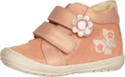 bőr félcipő 1553-504111 rózsaszín -ezüst 20-24 méretben