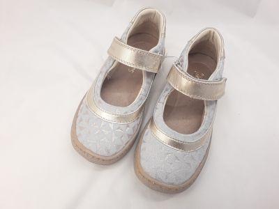 bőr félcipő 3242-502362 arany  1 tépős balerina cipő 25-30  méretben   2