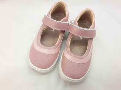 bőr félcipő 3242-402462 rózsaszín  1 tépős balerinacipő 25-30 méreteben2