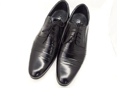 alkalmi férfi bőrcipő 250 CZARNY LAKIER 2