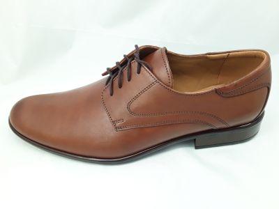 alkalmi férfi bőrcipő 277 braz 22