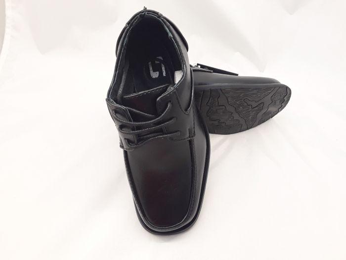 Fiú alkalmi cipő  14-GY199D BLACK 24-29 méretben  large