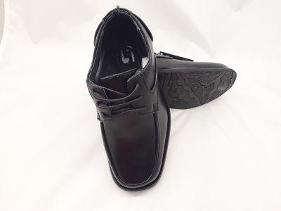 Fiú alkalmi cipő  14-GY199D BLACK 24-29 méretben 2