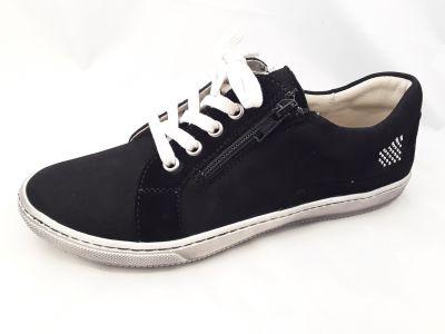 bőr félcipő 6203-508474 fekete 36-40 méretben